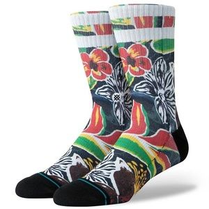 🆕 Stance Sinharaja Floral Crew Socks Mens Large